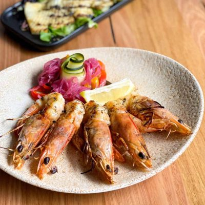 Chargrilled King Prawns