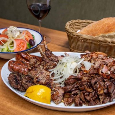 Eleni's Meat Platter for two
