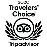 Eleni's Trip Advisor Traveller's Choice 2020 badge